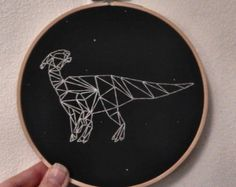 Tyrannosaurus Constellation Dinosaur Hand by StormYouCanWeather