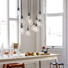 E27 Pendant Lamp - Dark Grey by Mattias Ståhlbom for MUUTO | MONOQI #DesignIcons