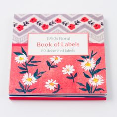 galison - book of labels - sunday in color
