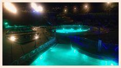 Piscine privée  #soirée #brazil #aquanor #night #reunionisland #lareunion #iledelareunion #974 #blue by abohemianheart