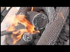 In This Video We Display Two Diffe Oak Steel Log Kit Options All Of Our