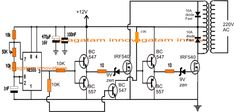 Homemade to Grid-tie Inverter Circuit Circuit Projects, Diy Electronics, Circuits, Grid, Homemade, Log Projects, Tecnologia, Hand Made, Do It Yourself