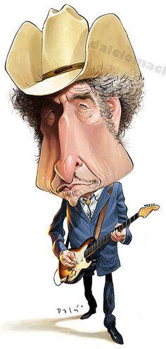 Bob Dylan by Dalcio Machado-Brazil