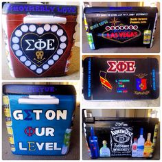 Sigep cooler Loving the beer cans and bottles that separate each side