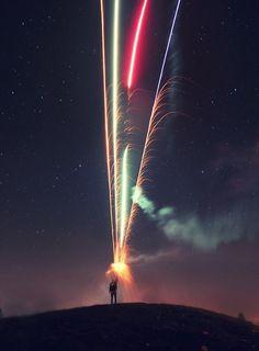 Halloween II by gurbir.grewal (fireworks / long exposure)