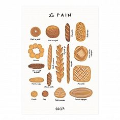 Le Pain Art Print