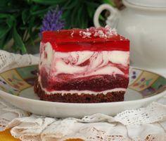Polish Desserts, Polish Recipes, Polish Cake Recipe, Sweet Recipes, Cake Recipes, Russian Cakes, Delicious Desserts, Yummy Food, Sweets Cake