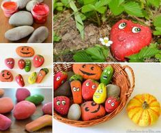 DIY Painted Stone Garden Markers Pictures, Photos, and Images for Facebook, Tumblr, Pinterest, and Twitter
