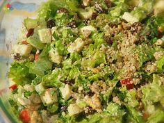 Ensalada Waldorf, receta del mes agosto 2012 en Consciencia Viva