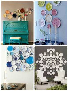 Decorating with Plates Fantastic Groupings