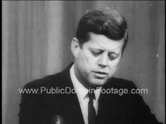 JFK No Prayer in School Supreme Court Decision Newsreel PublicDomainFootage.com