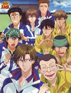 Prince of tennis -- Heh!