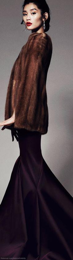 ~Zac Posen | Pre-Fall 2014 | The House of Beccaria #fur