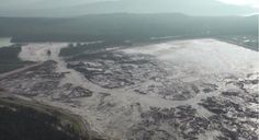Mount Polley tailings pond breach.