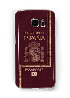 Spanish Passport Vintage by Lidra