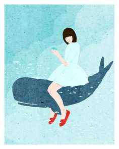 Whale - Xuan Loc Xuan print for sale @ Toi Art Gallery Arts And Crafts House, Magazine Illustration, Illustration Art, Sand Crafts, Blue Whale, Illustrations, Freelance Illustrator, Easy Drawings, Art For Sale