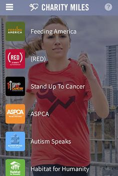25 Free Apps That Are Making The World A Better Place - Charity Miles donates money to your favorite charity for every mile you walk, run or bike.