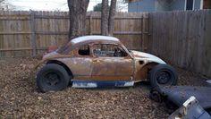 Coupe Vw Rat Rod, Rat Rods, Volkswagen Beetle Vintage, Vw Super Beetle, Car Camper, Beach Buggy, Mini Trucks, Vw Cars, Vintage Trucks