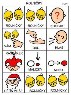 Pro Šíšu: Básničky i pro autíky Montessori, Crafts For Kids, Education, Comics, Cards, Czech Republic, Autism, Crafts For Children, Kids Arts And Crafts