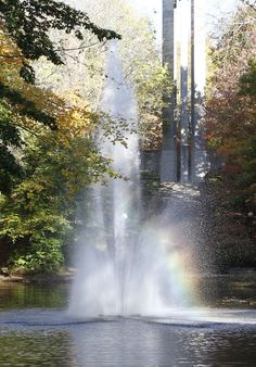 Fountain in front of the Carillon at Butler University- spent my childhood here.  This is my life.