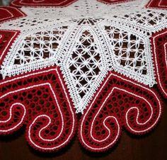 FSL Battenberg Valentine Heart Doily - Advanced Embroidery Designs