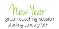 New Year Group Health Coaching www.simplyhealthynaturally.com