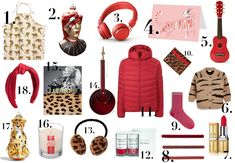 Excitingly, we compiled these gift guides by colour rather than theme - so you will find kids, men and women of all ages in one place - more presents for 'everyone' rather than organising into sections. Everything is under £100 (and the majority far under that, but I've allowed some higher price points for jewellery etc) and available online. And I will be releasing one every day this week! Hope you like... Christmas Gift Guide, Christmas Gifts, Rae Feather, Interior Design Jobs, The Frugality, Nail Polish Sets, H&m Home, Organising, Tree Decorations