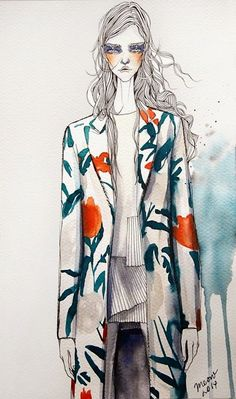 garment /// Fashionary Hand - A Fashion Illustration Blog