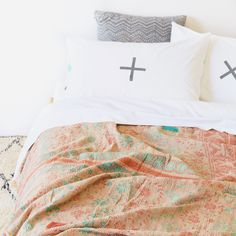 Sage x Clare is an online store that thoughtfully designs, curates and celebrates handmade, artisanal and bohemian wares from around the world. Bed Pillows, Cushions, Online Collections, Comforters, Lounge, Sage, Blankets, Exotic, Textiles