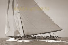 Lulworth 1930 © Beken of Cowes :: Image :: J Class Association Classic Sailing, Classic Yachts, Sailing Ships, Sailing Yachts, Sail Racing, Wood Boats, Sailboat, America's Cup, Archive