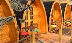 nos mega pod ! cabane en bois cocooning atypique pour l'hébergement insolite . venez découvrir le reste de notre gamme et faites vous plaisir ! http://www.hietala-aventure-loisirs.com/pod---mega-pod.html #pod #camping #megapod