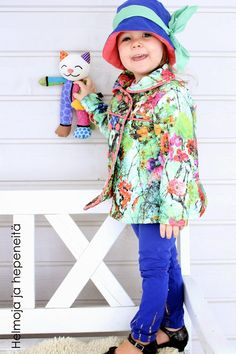 Hemlines and hepeneitä: Tyylilyyli new coat - Colourful spring coat