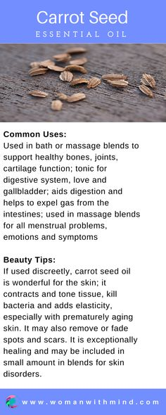 Carrot Seed Essential Oil Guide & Application #essentialoils #diybeauty