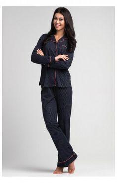 Pyjama Femme Model SAL-PY 1027 Bleu Rossli 69192