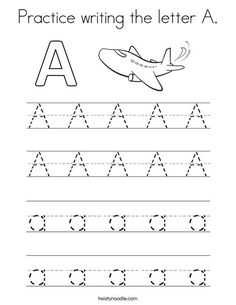 Letter H,h Coloring Page - Twisty Noodle | Tracing ...