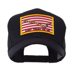 USA Flag Style Military Patch Cap - Navy Jack