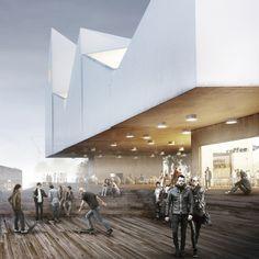 Baltic Sea Art Town- Estonia- Competition 1st Award by Sebastian Kochel, via Behance