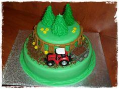 14. Traktoros torta