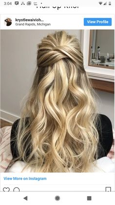 I like the style of the knot, but the curls are a little too loose.