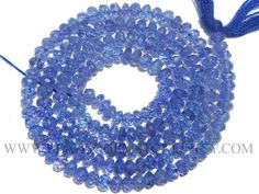 Excellent Quality AAA Tanzanite Faceted Rondelle Beads 2.80 #tanzanite #tanzanitebeads #tanzanitebead #tanzaniteroundel #roundelbeads #beadswolesaler #semipreciousstone #gemstonebeads #beadsogemstone #beadwork #beadstore #bead