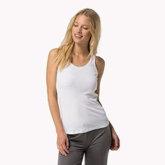 Mojo Independent Store - Tommy Hilfiger Cotton Modal Tank Top White