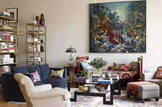 Decorator Richard Mishaan transforms a classic artist's loft in SoHo into a stylish family home, without losing any of its bohemian spirit