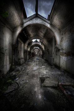 Abandoned asylum W