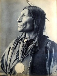 Platinum Print Photograph, Chief Wolf Robe, Cheyenne ; by Frank Albert Rinehart (American Feb. 12, 1861-Dec. 17, 1928), famous for his drawings, paintings & photographs depicting Native American personalities and scenes, especially the leaders and members of the delegations who attended the 1898 Indian Congress in Omaha. Copyright 1898
