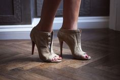 Loubs, obviously. Photos by Michelle Bobb-Parris.