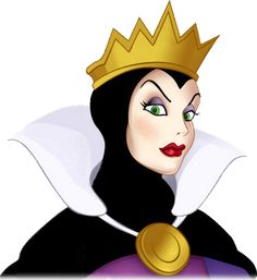 For Tim Evil Queen from Snow White, she's so beautiful and deadly. Queen (C) Walt Disney. Disney Evil Queen, Disney Magic, Disney Princess, Disney Pixar, Disney Villains, Disney Characters, Disney And More, Disney Love, Snow White Evil Queen