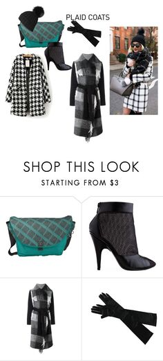 """Plaid Coats"" by grafic-703 ❤ liked on Polyvore featuring 3.1 Phillip Lim, Twin-Set and Black"