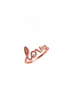 Avanessi - Love Ring rose gold