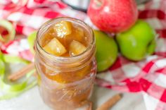 homemade apple pie filling recipe is a substitute for canned pie filling - Instant pot recipes - Torten Apple Desserts, Homemade Desserts, Apple Recipes, Apple Cakes, Vegan Recipes, Instant Pot, Homemade Apple Pie Filling, Homemade Recipe, Apple Filling