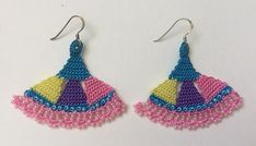 Unique Lace Crochet Earrings (stock clearance)
